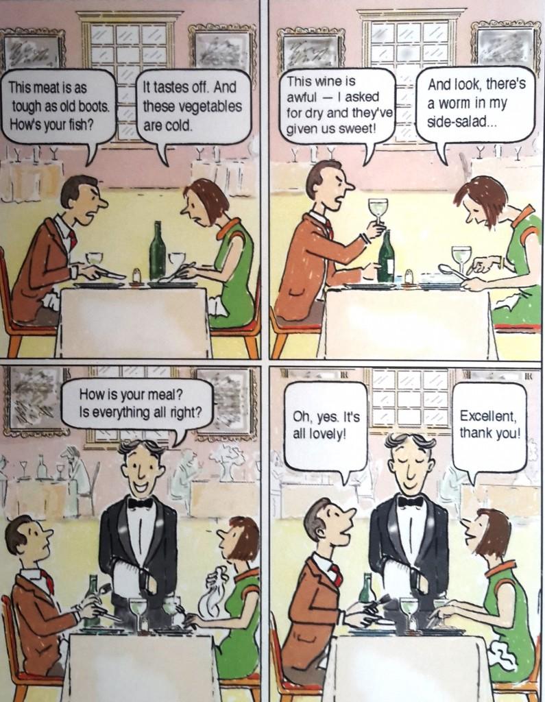 как жаловаться по-английски